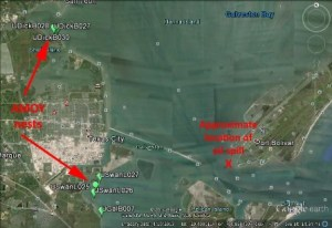 oil site in relation to nests resized
