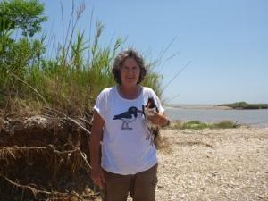 Sue on GIWW island